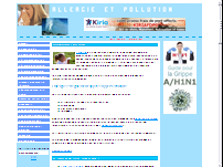 Allergies et pollution