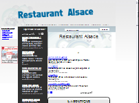 Restaurants Alsace
