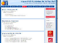 Ligue Midi-Pyr�n�es de Volley-Ball