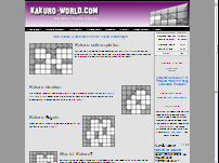Kakuro World