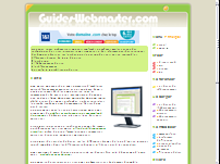 Guides Webmaster
