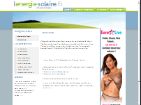 L'�nergie solaire