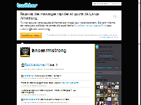 Twitter Lance Armstrong