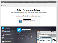 Extensions Safari